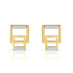 Square in square Earrings